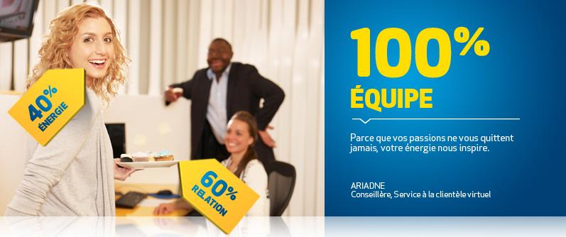 Ambiance de travail - Banque Laurentienne